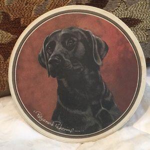 Other - Pollyanna Pickering stone Labrador dog Coaster EUC